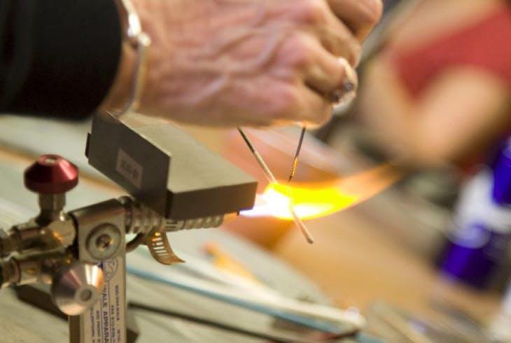 V Glassblowing Flame Working Sampler 3752
