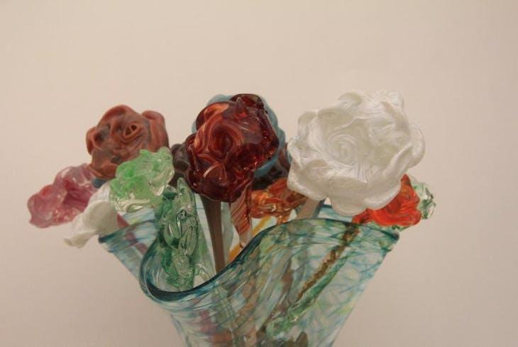 V Glassblowing Flowers 3749