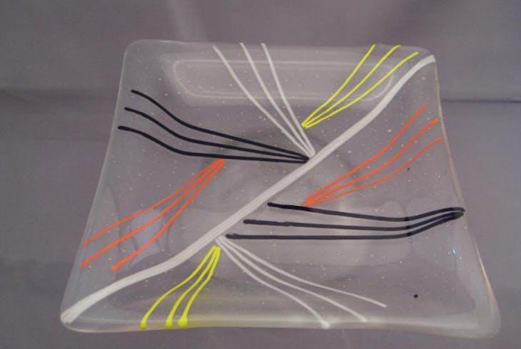 V Glassblowing Plate Making 3746