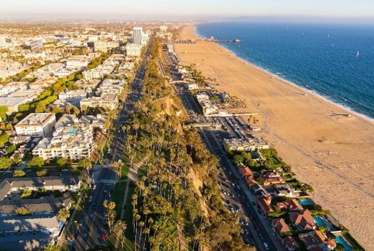 V Los Angeles Coastline 60 Min Flight 11421