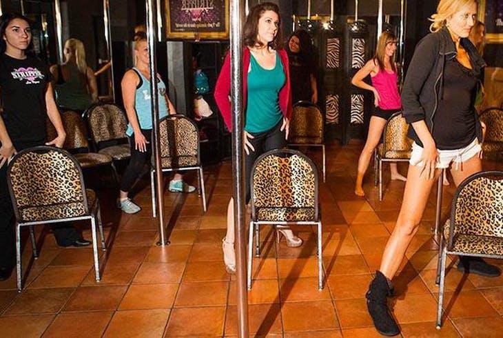 V Theatre Stripper 101