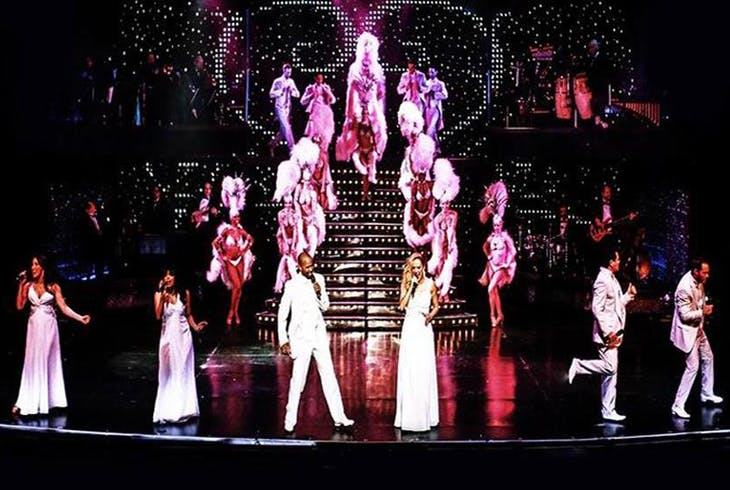 V Theatre Vegas The Show