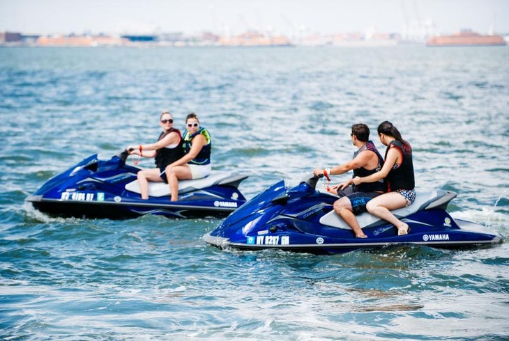 Vendor Supplied Skyline Jet Ski Tours