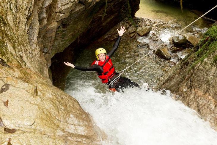 Waterfall Canyoneering