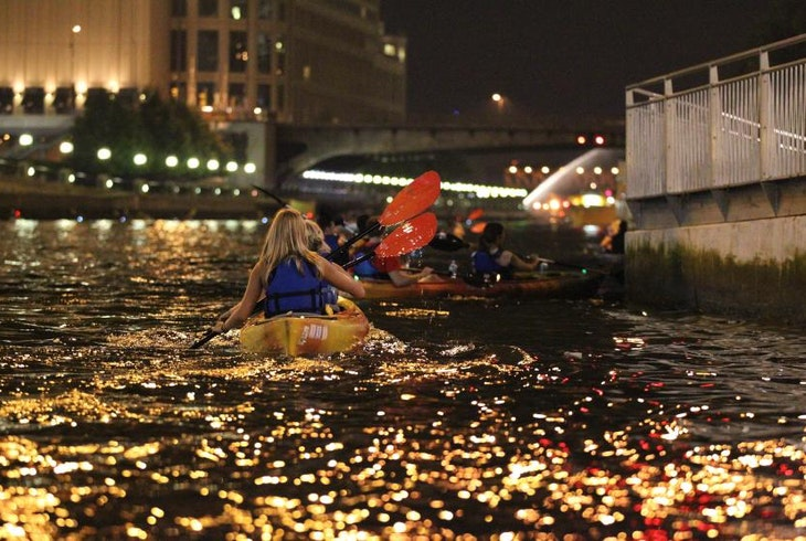 Wateriders Night Kayak Tours