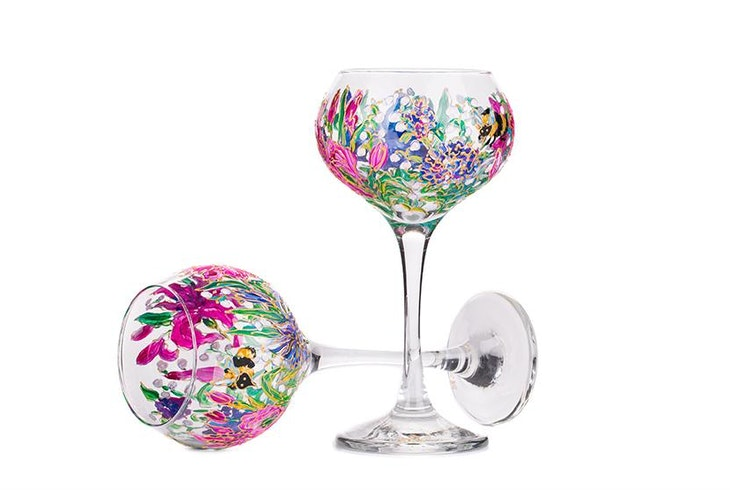 Wine Glass Painting