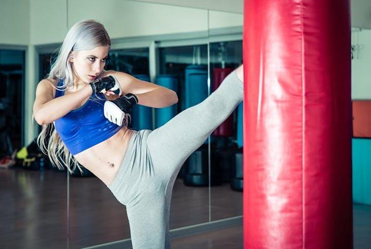 Women Kickboxing