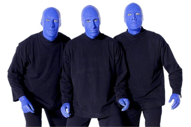 blue man group date idea