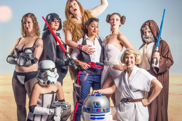 Star Wars: A Nude Hope