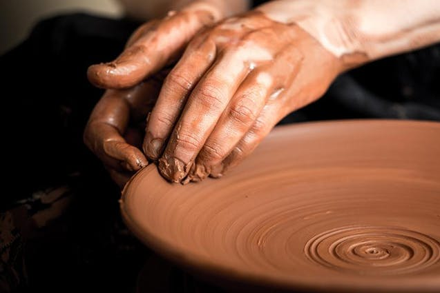 Pottery Sip and Spin