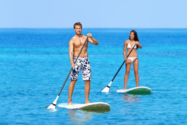 miami water date ideas paddle board