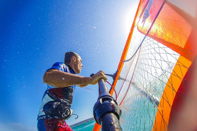 miami water date ideas windsurfing