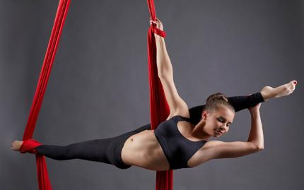 Basic Aerial Silks Technique-(Vendor Closed MA 9/26/19)