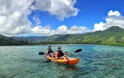 Active Oahu Tours Chinamans Hat Kayaking Tour