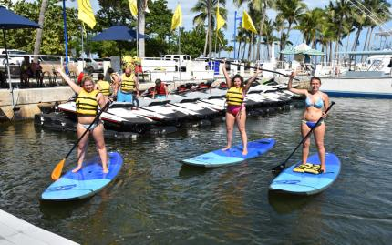 Miami Watersports Paddleboarding