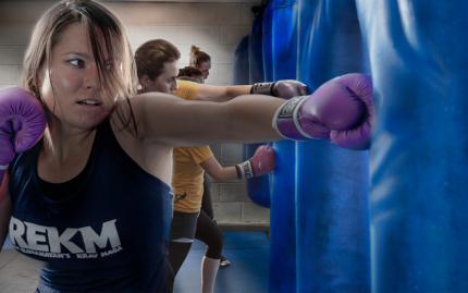 Roy Elghanayans Krav Maga Boxing
