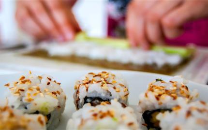 Taste Buds Kitchen Sushi And Dumplings