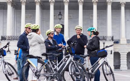 Unlimited Biking DC Capital Sites Bike Tour