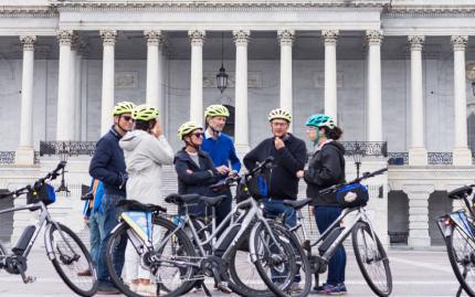 Unlimited Biking DC Monumental Electric Bike Tour