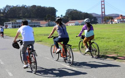 Unlimited Biking SF Golden Gate Bridge Bike Rentals