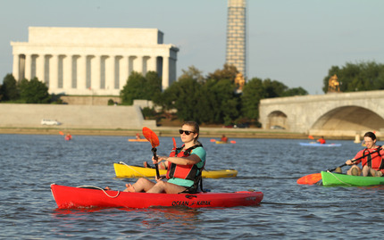 Boating In Dc Kayak Photos