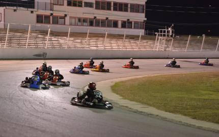 Central Texas Speedway Single Go Kart