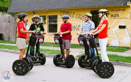 City Segway Tours New Orleans Day