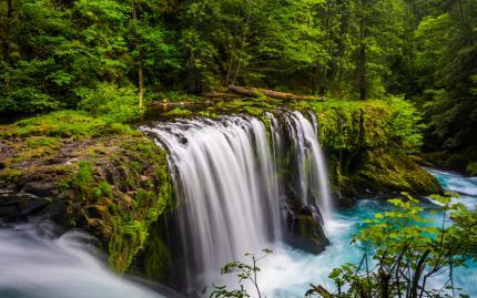 Columbia Gorge Waterfall Portland