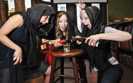 Drunk Shakespeare - Mezzanine