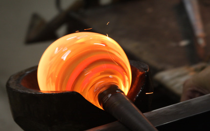 Glassblowing Lesson for Two