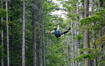Grizzly Falls Zip Lining