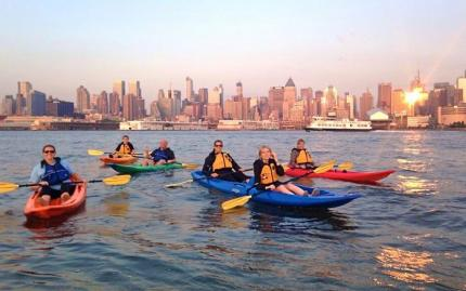 New York After Dark Kayaking