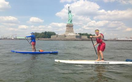 Manhattan Kayak Stand Up Paddle