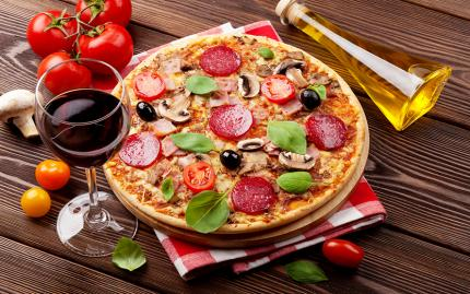 Perfect Pizza and Wine Pairing (Pending vendor review CS 12/9/15)