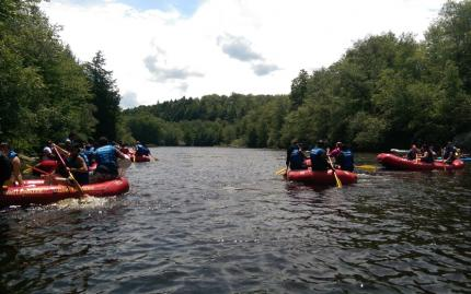 Sourced Adventures Rafting