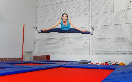 Beginner Trampoline (Correctly disabled as of 2018 class no longer offered TC 3/28/18)