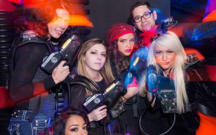 Whirlyball Lasertag